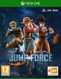 Portada oficial de JUMP Force para Xbox One