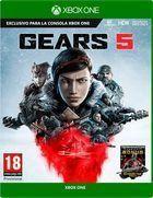 Portada oficial de de Gears of War 5 para Xbox One