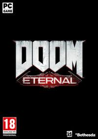 Portada oficial de Doom Eternal para PC