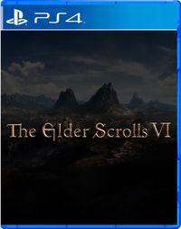 Portada oficial de The Elder Scrolls VI para PS4