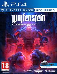Portada oficial de Wolfenstein: Cyberpilot para PS4