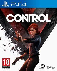 Portada oficial de Control para PS4