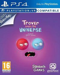 Portada oficial de Trover Saves the Universe para PS4