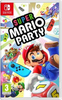 Portada oficial de Super Mario Party para Switch