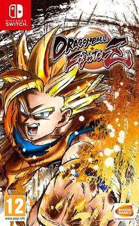 Portada oficial de Dragon Ball FighterZ para Switch