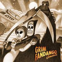 Portada oficial de Grim Fandango Remastered para Switch