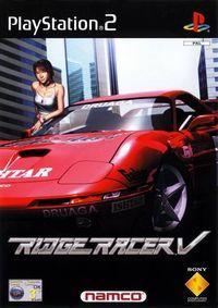 Portada oficial de Ridge Racer V para PS2