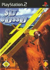 Portada oficial de Sky Odyssey para PS2