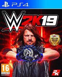 Portada oficial de WWE 2K19 para PS4