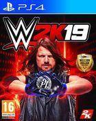 Portada oficial de de WWE 2K19 para PS4