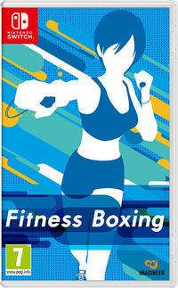 Portada oficial de Fitness Boxing para Switch