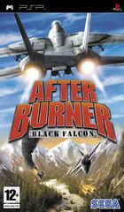 Portada oficial de de After Burner: Black Falcon para PSP