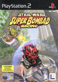 Portada oficial de Star Wars: Super Bombad Racing para PS2