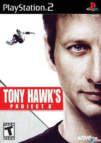 Portada oficial de Tony Hawk's Project 8 para PS2