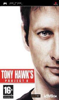 Portada oficial de Tony Hawk's Project 8 para PSP