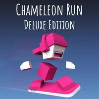 Portada oficial de Chameleon Run Deluxe Edition para Switch