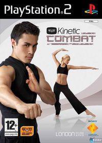 Portada oficial de EyeToy: Kinetic Combat para PS2
