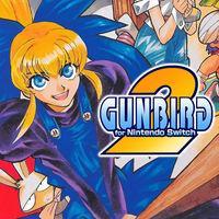 Portada oficial de Gunbird 2 para Switch