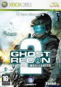 Portada oficial de Tom Clancy's Ghost Recon Advanced Warfighter 2 para Xbox 360