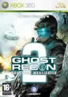 Portada oficial de de Tom Clancy's Ghost Recon Advanced Warfighter 2 para Xbox 360
