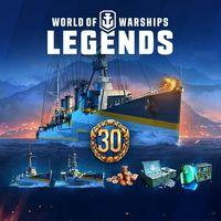 Portada oficial de World of Warships: Legends para PS4