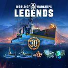 Portada oficial de de World of Warships: Legends para PS4