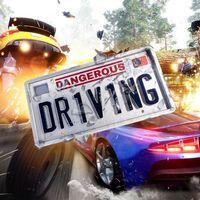 Portada oficial de Dangerous Driving para PS4