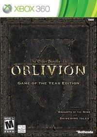 Portada oficial de The Elder Scrolls IV: Oblivion - Knights of the Nine para Xbox 360
