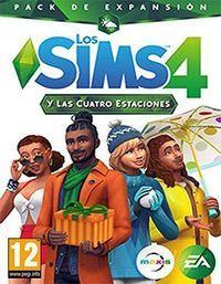 Portada oficial de Los Sims 4 y Las Cuatro Estaciones para PC