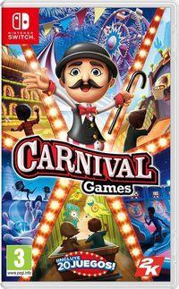 Portada oficial de Carnival Games para Switch
