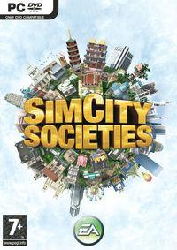 Portada oficial de SimCity Societies para PC