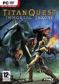Portada oficial de Titan Quest: Immortal Throne para PC