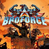 Portada oficial de Broforce para Switch