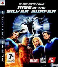 Portada oficial de Los 4 Fantásticos y Silver Surfer para PS3