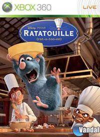 Portada oficial de Ratatouille  para Xbox 360