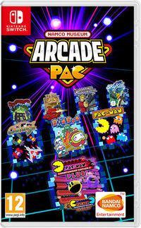 Portada oficial de Namco Museum Arcade Pac para Switch