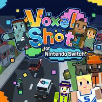 Portada oficial de Voxel Shot for Nintendo Switch para Switch