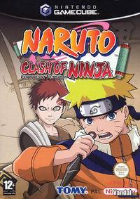 Portada oficial de Naruto: Clash of Ninja para GameCube