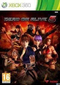 Portada oficial de Dead or Alive 5 para Xbox 360