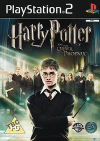 Portada oficial de Harry Potter and the Order of the Phoenix para PS2