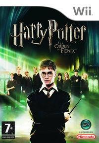 Portada oficial de Harry Potter and the Order of the Phoenix para Wii