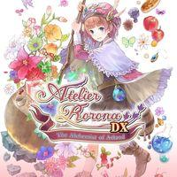 Portada oficial de Atelier Rorona: The Alchemist of Arland DX para PS4