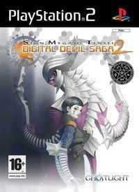 Portada oficial de Shin Megami Tensei: Digital Devil Saga 2 para PS2