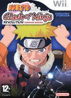 Portada oficial de de Naruto : Clash of Ninja Revolution para Wii