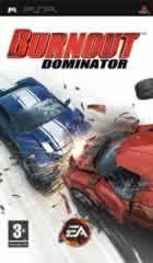 Portada oficial de de Burnout Dominator para PSP