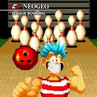 Portada oficial de NeoGeo League Bowling para Switch