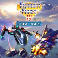 Portada oficial de Sega Ages Thunder Force IV para Switch