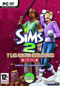 Portada oficial de Los Sims 2 y las Cuatro Estaciones para PC