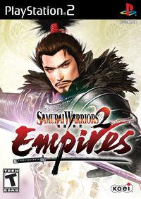 Portada oficial de Samurai Warriors 2 Empires para PS2