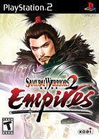 Portada oficial de de Samurai Warriors 2 Empires para PS2